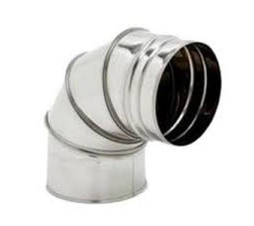 CURVA INOX SIMPLES 150X90º