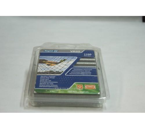 AGRAFAS DE REDE 1100 PCS GALVANIZADO