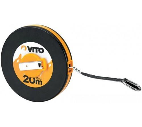 FITA METRICA FIBRA DE VIDRO 13MM 20MTS