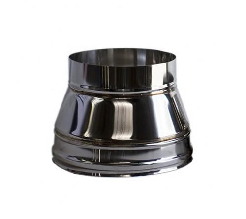 REDUÇAO  INOX REDONDO 125X150 MM