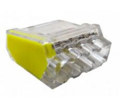 LIGADORES AUTOMATICOS 4x2.5mm (saco 10pçs)