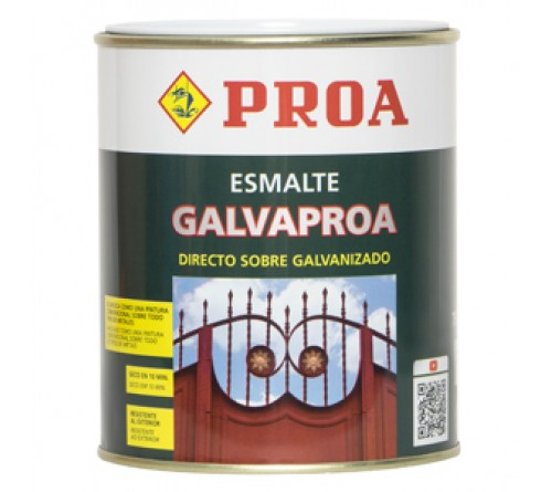 ESMALTE GALVAPROA RAL 7011 4 Lt  CINZA