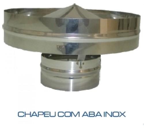 CHAPEU INOX ANTI-RETORNO 83 MM