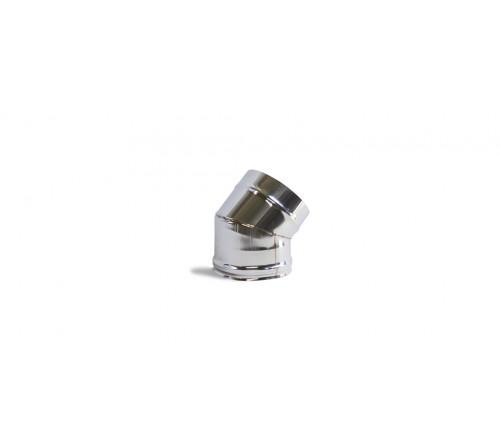 CURVA INOX SIMPLES 80X45