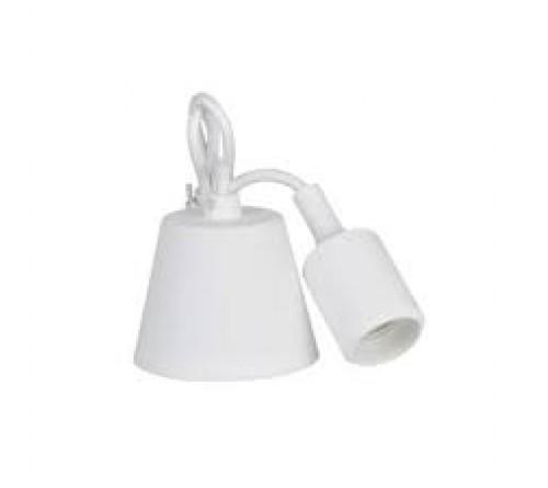SUPORTE LAMPADA E27 BRANCO