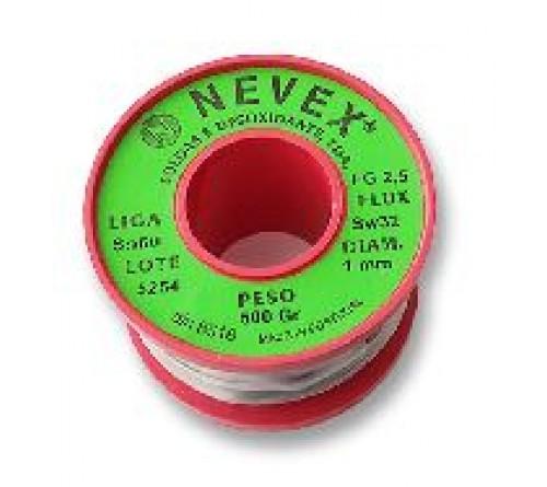 ROLO DE SOLDA EN FIO 100GR. SW26  2mm