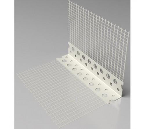 PERFIL COBRE CANTOS PLASTICA COM REDE 2,5MT