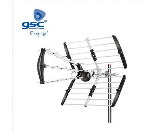 ANTENA DIGITAL UHF 15.5 DB C/FICHA F.