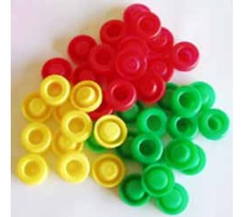 TAPOS PLAST.P/GARRAFAS (SACO100)