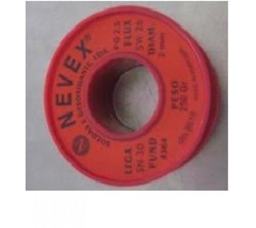 ROLO DE SOLDA EN FIO 250 Gg. SW26  2mm